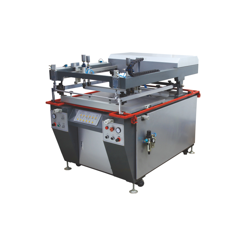 oblique-ARM Type Flat Screen Printing Machine